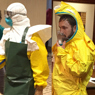 Ebola Tiger Suit - Old and New